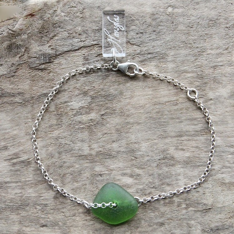 Green Diamond armband