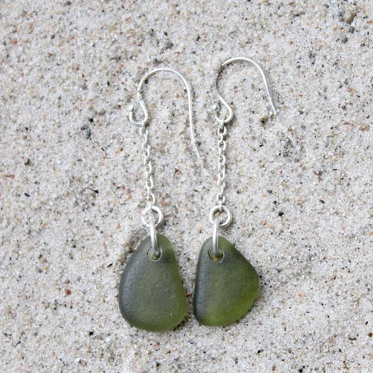 Olivet örhängen