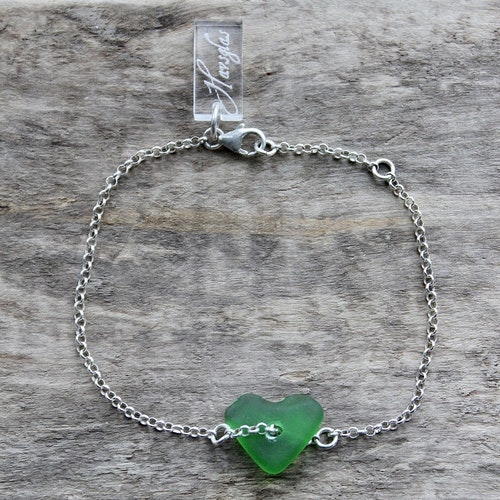 Greenest Heart armband