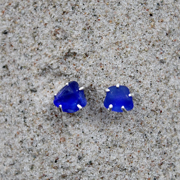 Clearly Blue stiftörhängen