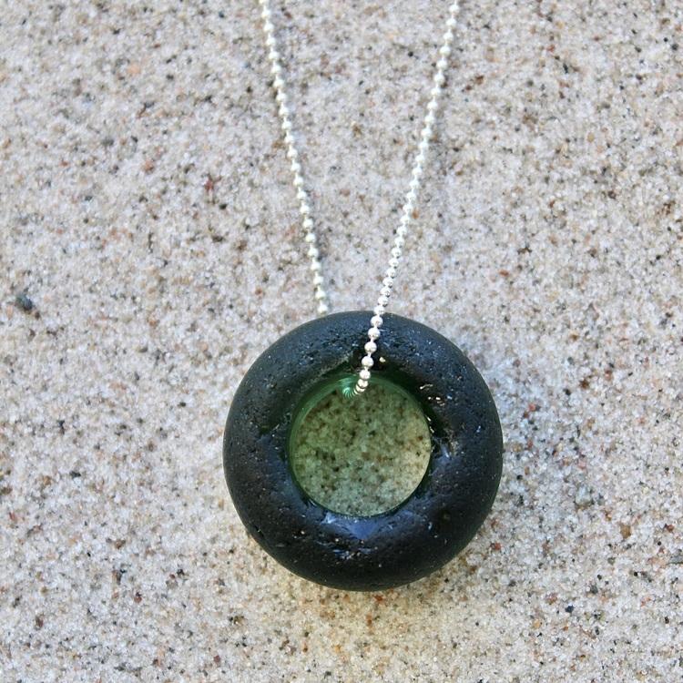 Re-Circle Wonder Green halsband