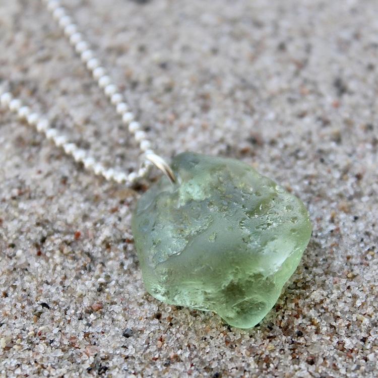 Green Bonfireglass halsband