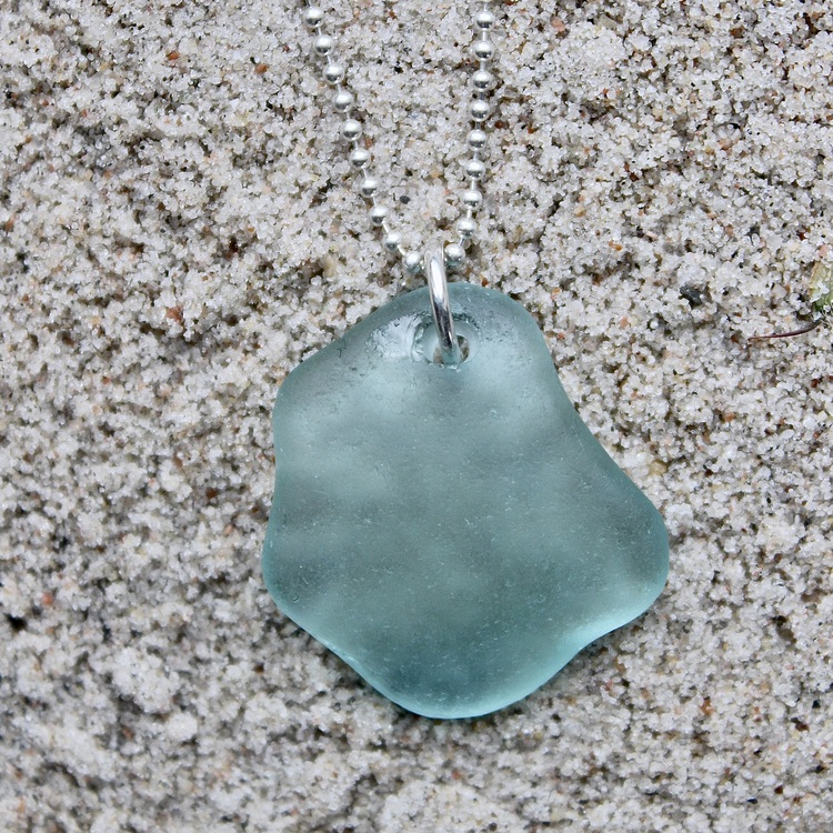 Floating Blue halsband