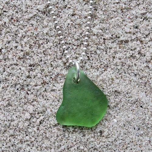 Green Bird halsband