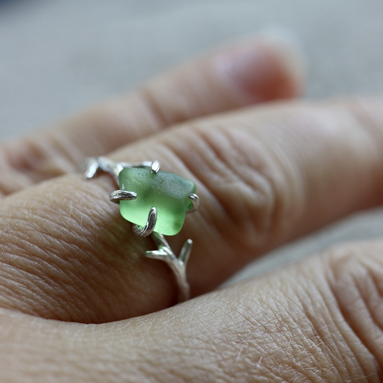 Shimmering Forest ring