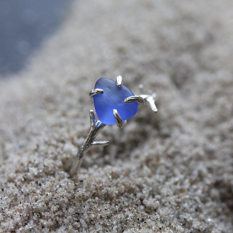 Fountain Blue ring