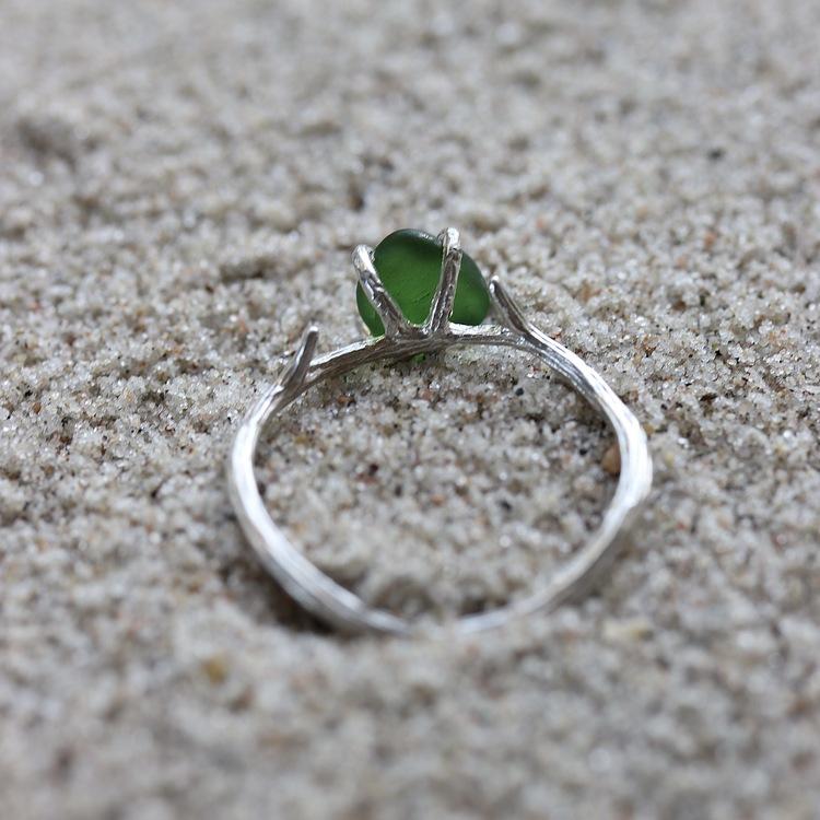 Soft Moss ring