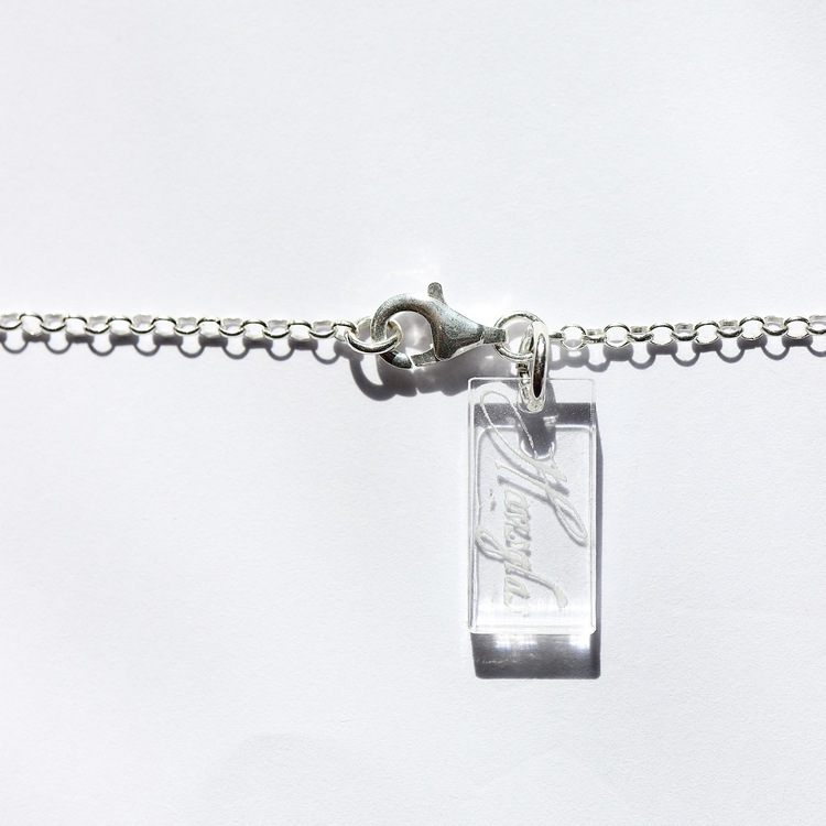 Trapezoid halsband