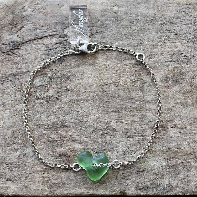 Green Is My Love armband