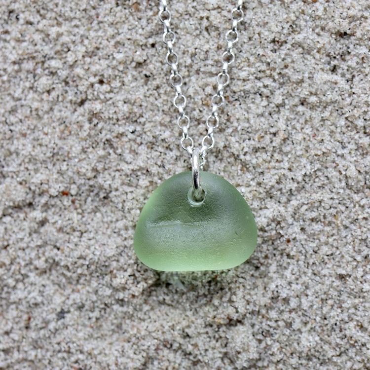Green Gorgeousness halsband