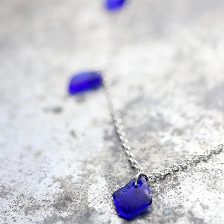 Treasure Hunter´s Blue halsband