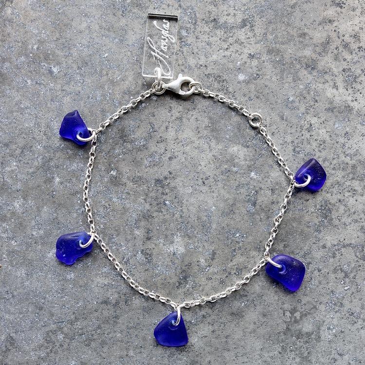 Treasure Hunter´s Blue armband