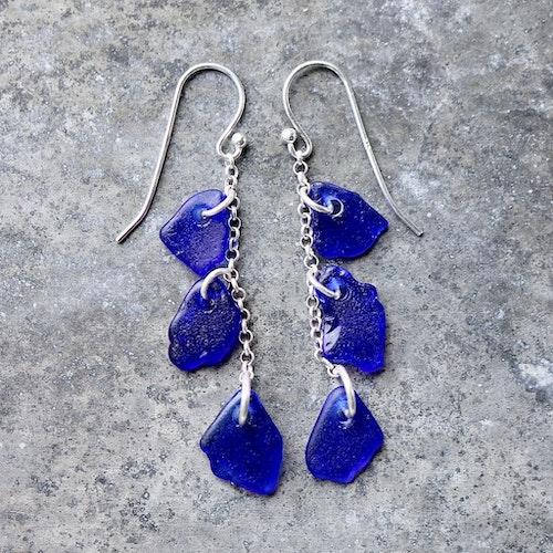Treasure Hunter´s Blue örhängen