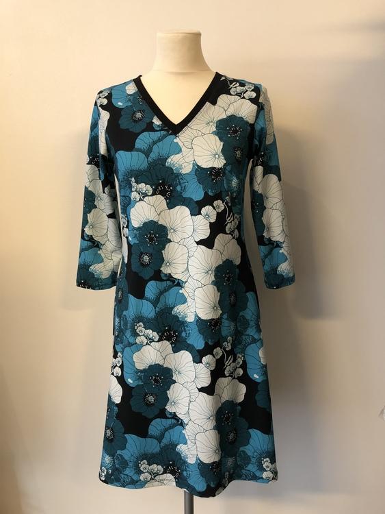 Engla klänning - Krasse petrol