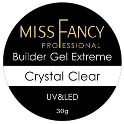 Builder gel Extreme Crystal Clear