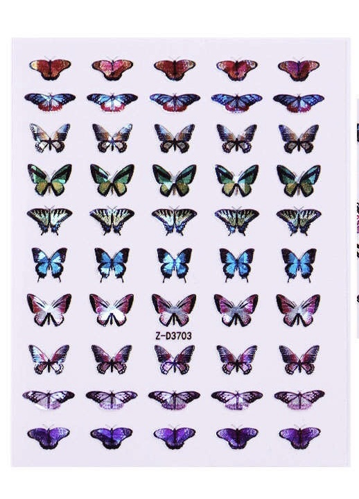 Laser Butterflies