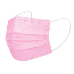 Ansiktsmask 50 st rosa