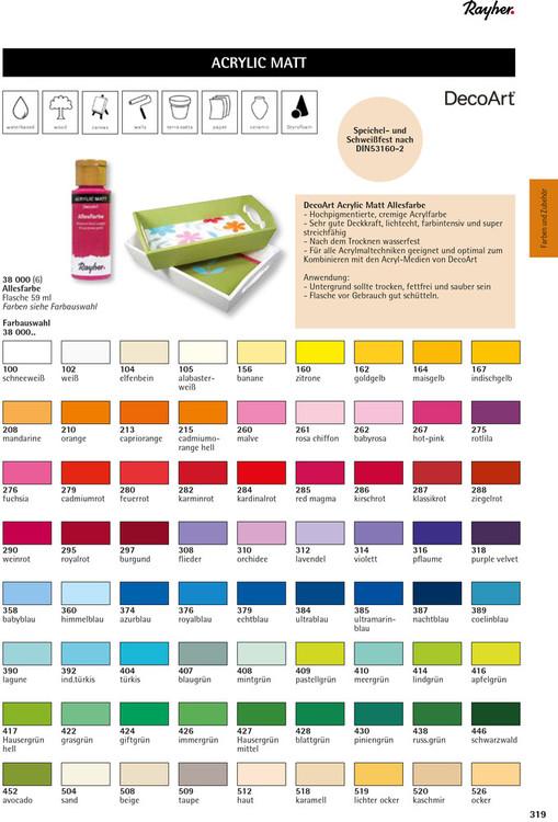 Hobbyfärg Fuchsia
