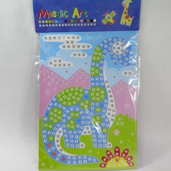 Barn Mosaic art Snigel