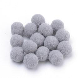 PomPoms grå 10mm
