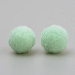 PomPoms blekgrön 10mm