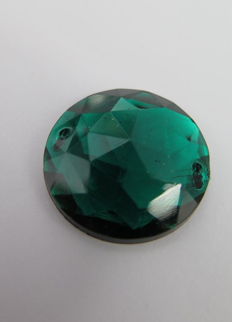 Grön akrylsten
