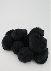 PomPoms svarta 40mm