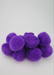 PomPoms lila 40mm