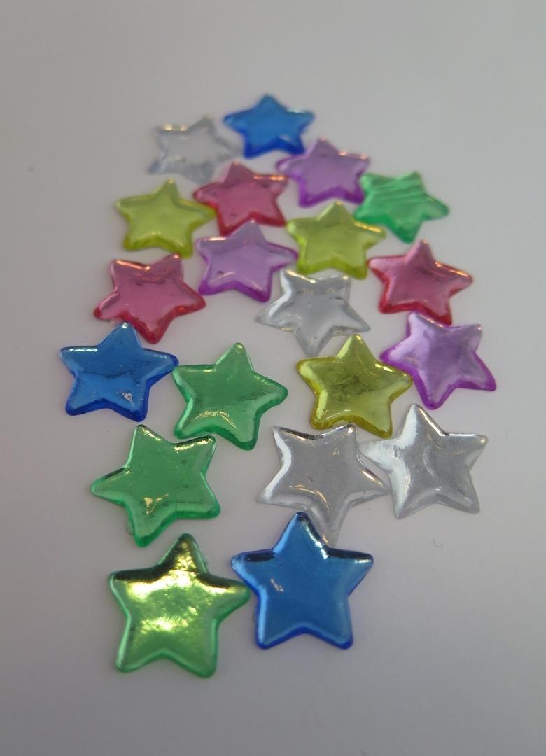 Dekorations stjärnor