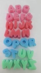 Skumplast bokstäver A-Z