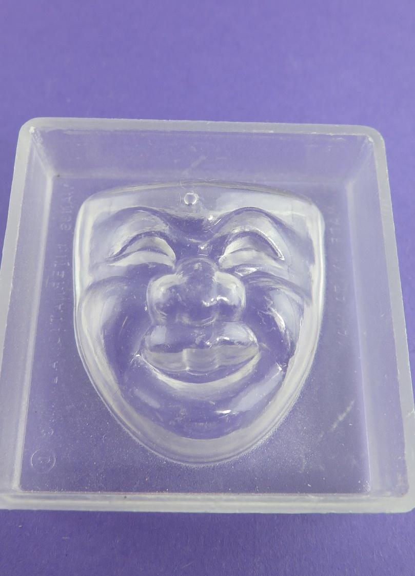 Gips/tvålform mask