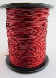 Smyckes/gummitråd röd