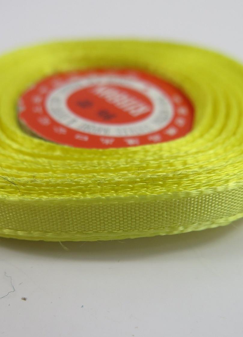 Sidenband på rulle gul
