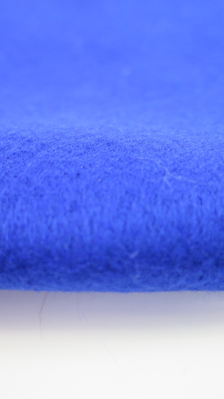 Blå filt A4