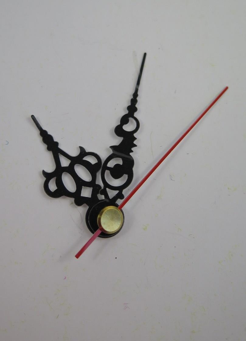 Visare svarta med ornament