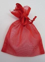 Organza / smycke påsar röd