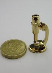 **Miniatyr** Mikroskop i mässing