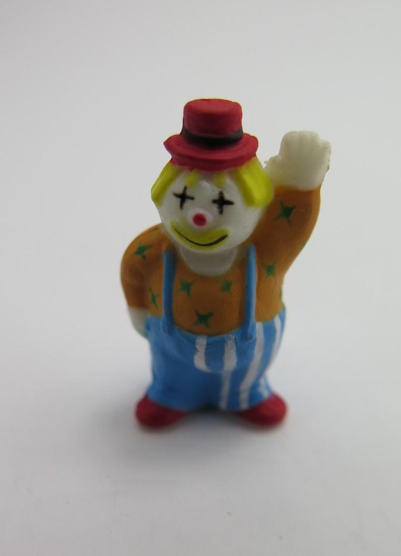 **Miniatyr** Hälsande clown