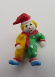 **Miniatyr** Liggande clown