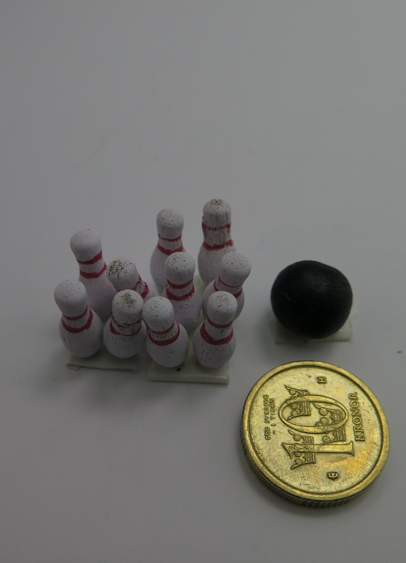 **Miniatyr** Bowling set