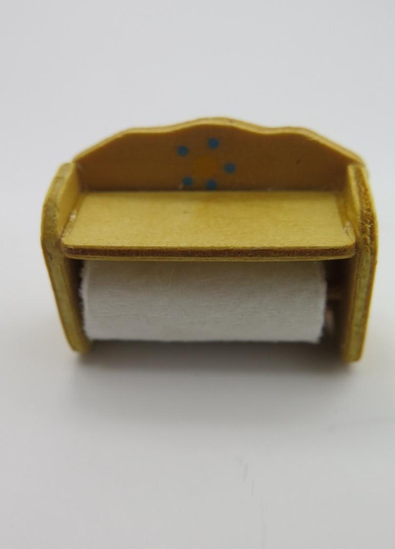 **Miniatyr** Hushålls rulle/papper
