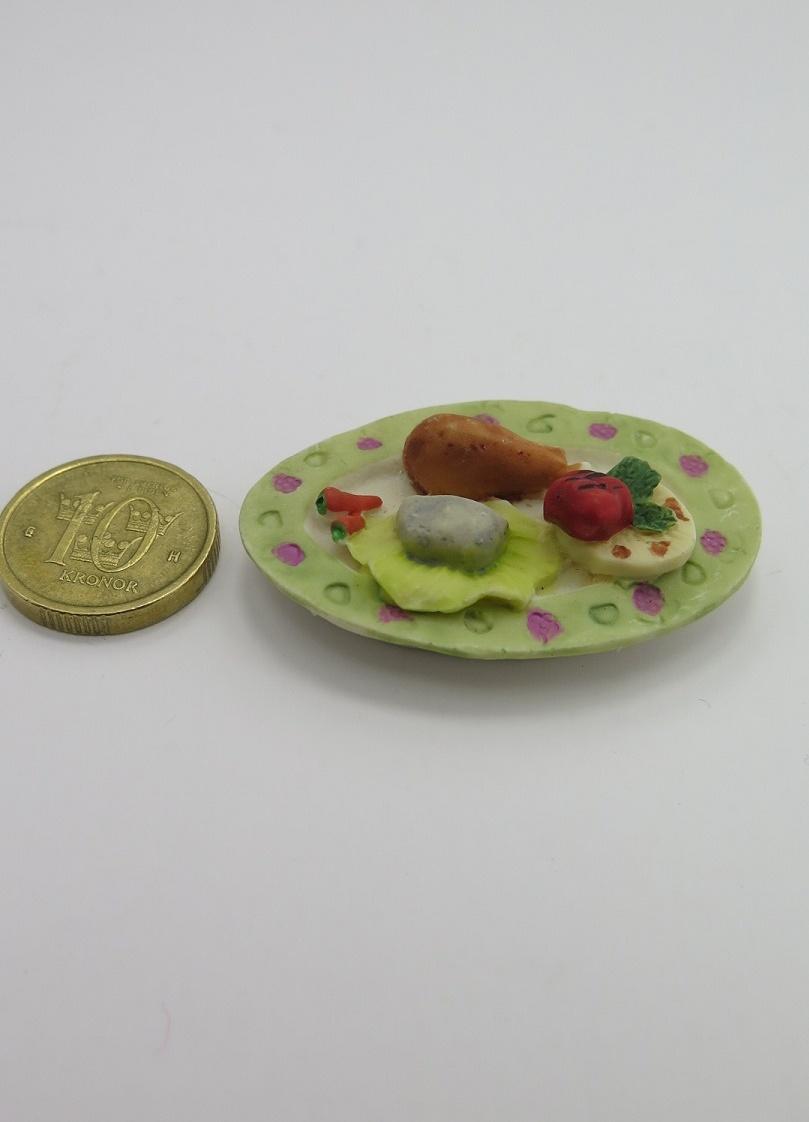 **Miniatyr** Matbricka kyckling