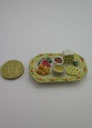**Miniatyr** Matbricka frukt