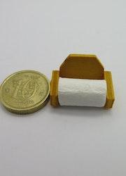 **Miniatyr** Toalett rulle