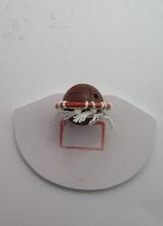 **Miniatyr** Basketmål med boll