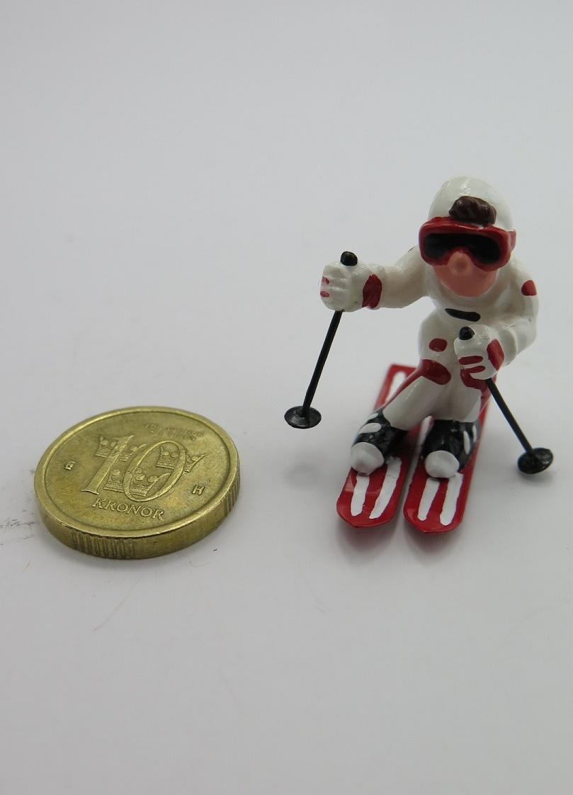 **Miniatyr** Slalomåkare