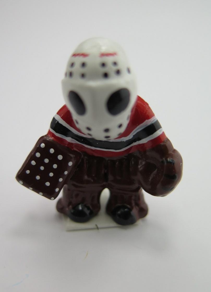 **Miniatyr** Hockeymålvakt