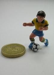 **Miniatyr** Fotbollsspelare