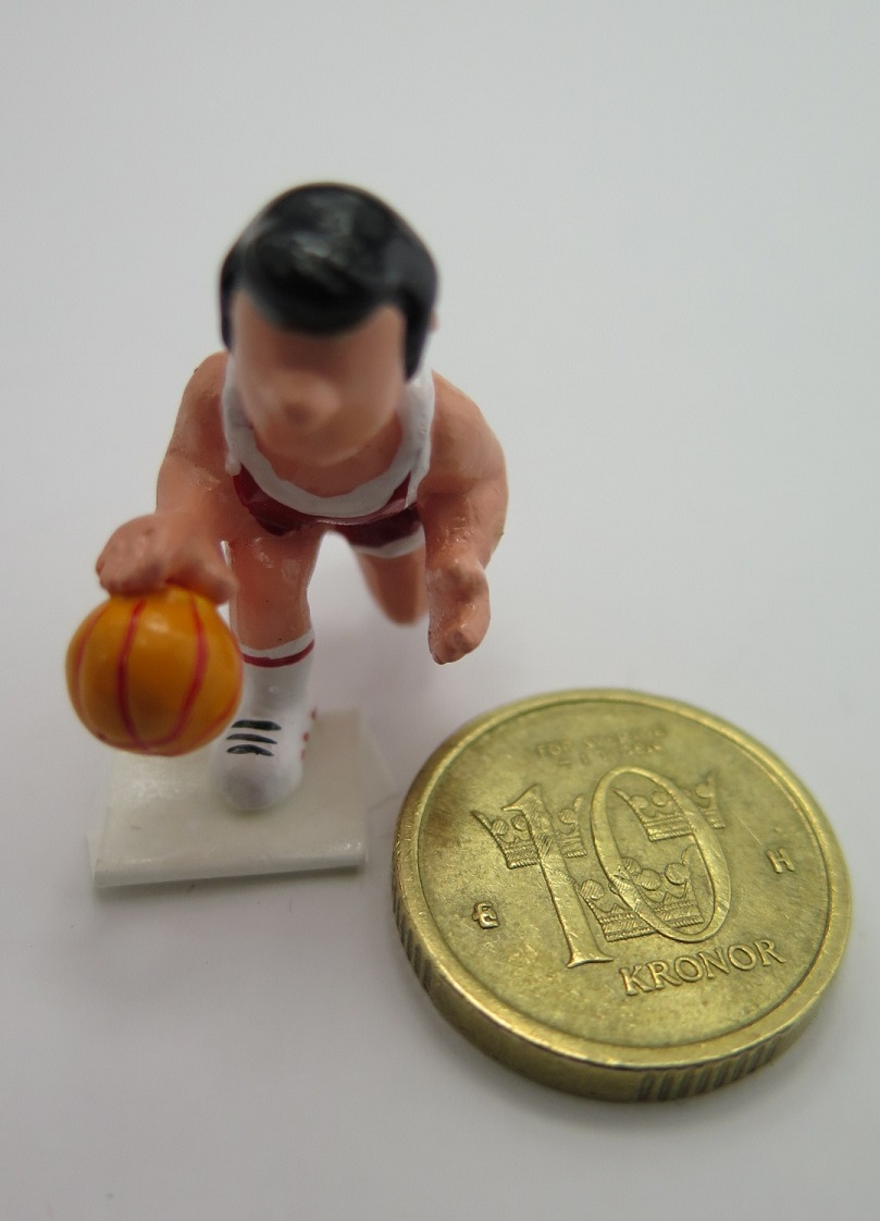**Miniatyr** Basket dribblare