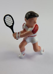 **Miniatyr** Tennisspelare